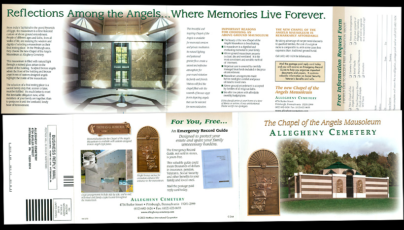 Allegheny Cemetery - Chapel of the Angels