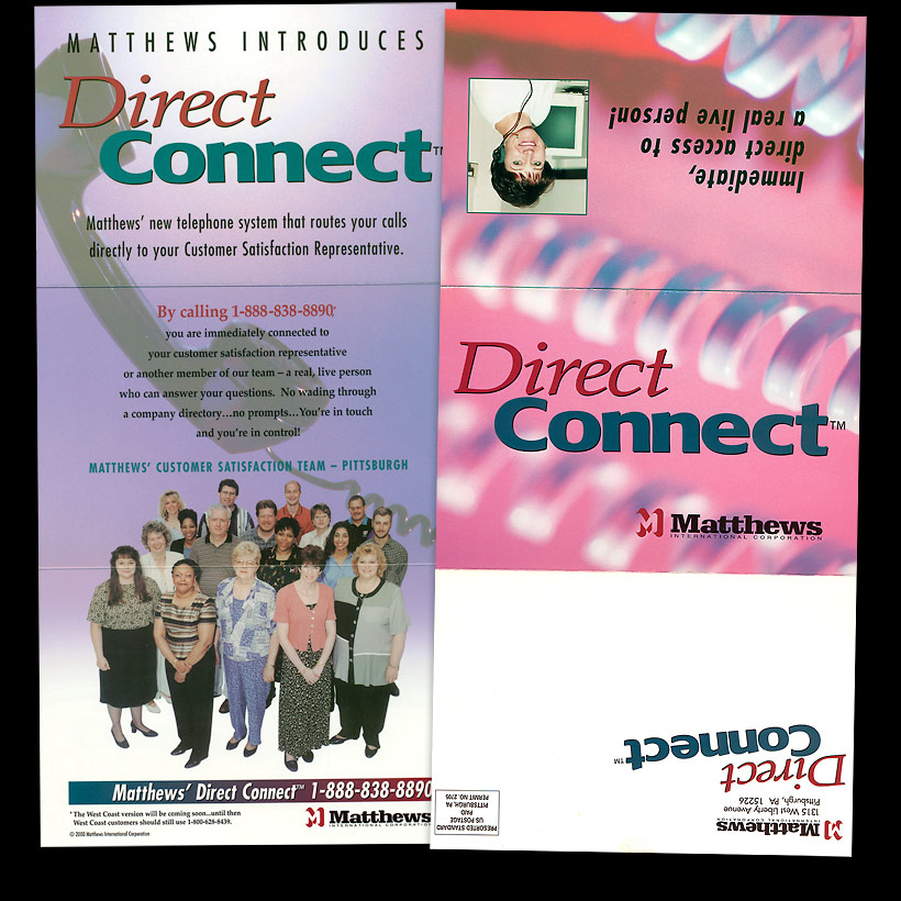 Direct Connect - mailer