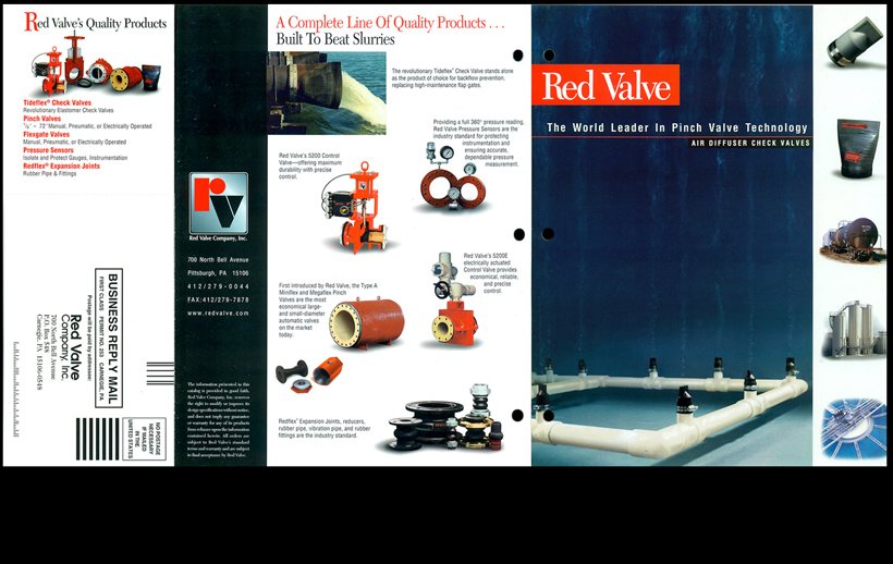 Red Valve - Air Diffusers