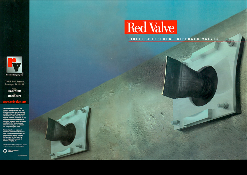Red Valve - Effluent Diffusers