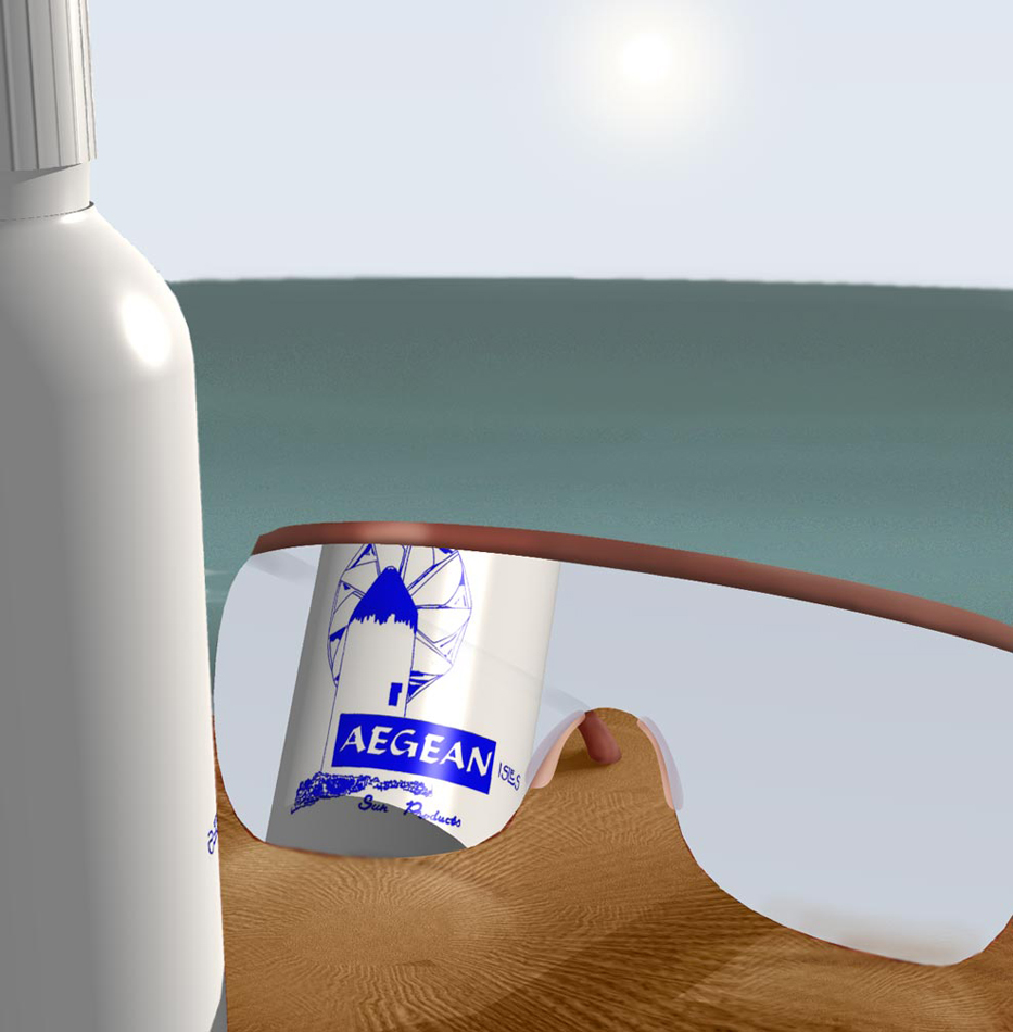 Aegean Isles Sunscreen - proposal